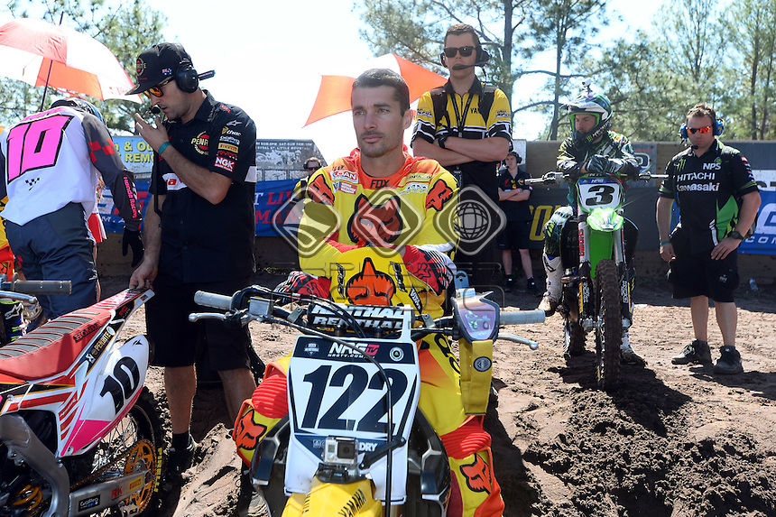 Dan Reardon / Yamaha<br /> 2015 MX Nationals / Round 10 / MX1<br /> Australian Motocross Championships<br /> Coolum Qld 30 August 2015<br /> &copy; Sport the library / Jeff Crow