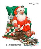 GIORDANO, CHRISTMAS SANTA, SNOWMAN, WEIHNACHTSMÄNNER, SCHNEEMÄNNER, PAPÁ NOEL, MUÑECOS DE NIEVE, paintings+++++,USGI1398,#X# stickers