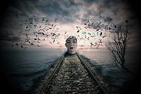 Photo manipulated art