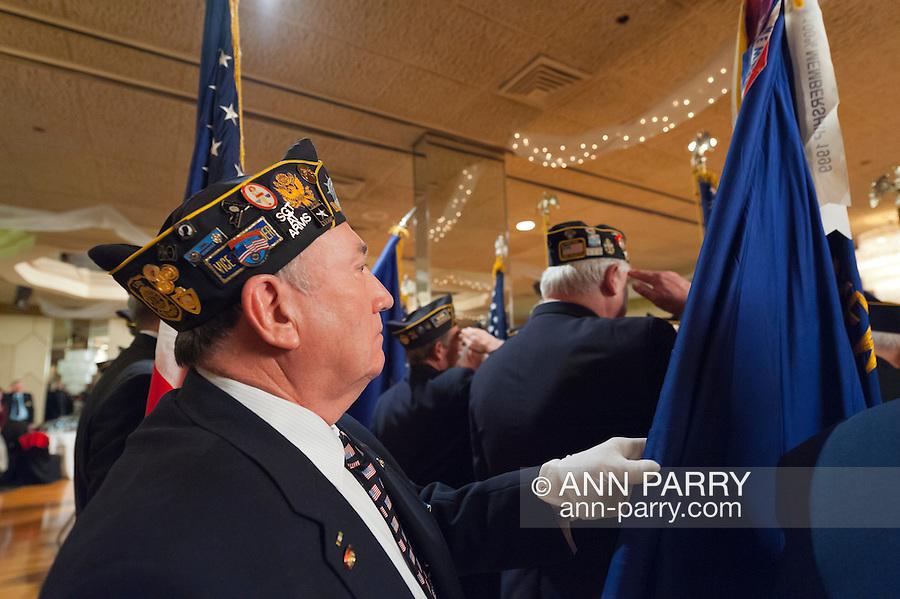 American Legion's Fifth Annual Military Ball/Post Commanders Night at the Stuart Thomas Manor, 2143 Boundary Avenue, Farmingdale, New York, USA, on Saturday, February 18, 2012.