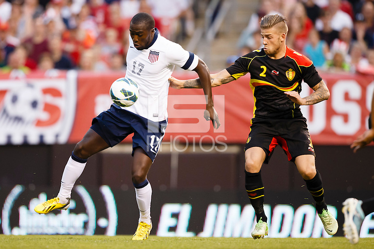 U.S. Men's National Team vs. Belgium  - International friendly soccer game at First Energy Stadium in Cleveland, Wednesday, May 29, 2013. (ISI Photos/Rick Osentoski)