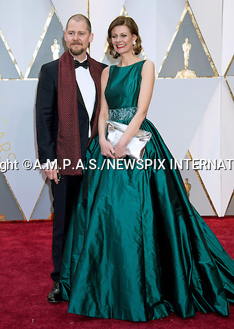26.02.2017; Hollywood, USA: LOVE LARSON AND EVA VON BAHR<br /> attend The 89th Annual Academy Awards at the Dolby&reg; Theatre in Hollywood.<br /> Mandatory Photo Credit: &copy;AMPAS/NEWSPIX INTERNATIONAL<br /> <br /> IMMEDIATE CONFIRMATION OF USAGE REQUIRED:<br /> Newspix International, 31 Chinnery Hill, Bishop's Stortford, ENGLAND CM23 3PS<br /> Tel:+441279 324672  ; Fax: +441279656877<br /> Mobile:  07775681153<br /> e-mail: info@newspixinternational.co.uk<br /> Usage Implies Acceptance of Our Terms &amp; Conditions<br /> Please refer to usage terms. All Fees Payable To Newspix International