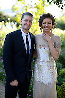Matthew Morrison and Renee Puente at Elton John's White Tie and Tiara Ball