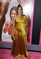 www.acepixs.com<br /> <br /> July 13 2017, LA<br /> <br /> Jada Pinkett Smith arriving at the premiere of Universal Pictures' 'Girls Trip' at the Regal LA Live Stadium 14 on July 13, 2017 in Los Angeles, California.<br /> <br /> <br /> By Line: Peter West/ACE Pictures<br /> <br /> <br /> ACE Pictures Inc<br /> Tel: 6467670430<br /> Email: info@acepixs.com<br /> www.acepixs.com