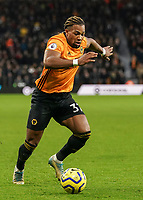 Wolverhampton Wanderers' Adama Traore<br /> Photographer Lee Parker/CameraSport<br /> <br /> The Premier League - Wolverhampton Wanderers v Newcastle United - Saturday 11th January 2020 - Molineux - Wolverhampton<br /> <br /> World Copyright © 2020 CameraSport. All rights reserved. 43 Linden Ave. Countesthorpe. Leicester. England. LE8 5PG - Tel: +44 (0) 116 277 4147 - admin@camerasport.com - www.camerasport.com