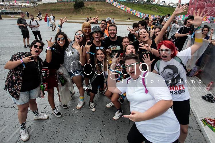 SAO PAULO, SP 07.04.2019: LOLLAPALOOZA-SP - Público. Lollapalooza Brasil 2019, que acontece de 05 a 07 de abril no Autodromo de Interlagos, zona sul da capital paulista. (Foto: Ale Frata/Codigo19). Lollapalooza Brasil 2019, que acontece de 05 a 07 de abril no Autodromo de Interlagos, zona sul da capital paulista. (Foto: Ale Frata/Codigo19)