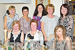 Pictured at the Broudairs Bakery Party in Bella Bia on Saturday night are, front l-r: Julia Moriarty, Maureen O'Halloran, Ciara Cashman. Back l-r: Eileen Tierney, Anna Szaroda, Elizabeth Smith, Marie Corkery and Deirdre McDonnell.