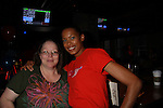 One Life To Live's Kearran Giovanni and Vikki at the Daytime Stars and Strikes Charity Event to benefit the American Cancer Society at the Bowlmore Lanes, New York City, New York. (Photo by Sue Coflin/Max Photos)