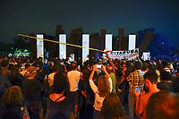 Ato em memoria de presos politicos mortos e desaparecidos, Caminhada do Silencio, Ibirapuera, Sao Paulo. 31.03.2019. Foto © Juca Martins.