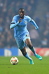 Yaya Toure of Manchester City - Manchester City vs. CSKA Moscow - UEFA Champions League - Etihad Stadium - Manchester - 05/11/2014 Pic Philip Oldham/Sportimage
