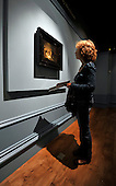 "a visitor looks at The Entombment Sketch - ""Rembrandt and the Passion"" offers a unique opportunity to see this most famous painting in the The Hunterian's collection as well as masterpieces never seen before in Scotland - at the Hunterian Gallery - Glasgow University - picture by Donald MacLeod - 19.9.12 - 07702 319 738 - clanmacleod@btinternet.com - www.donald-macleod.com"