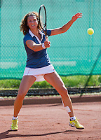 August 24, 2014, Netherlands, Amstelveen, De Kegel, National Veterans Championships, Mariëlle Spekreijse (NED)<br />