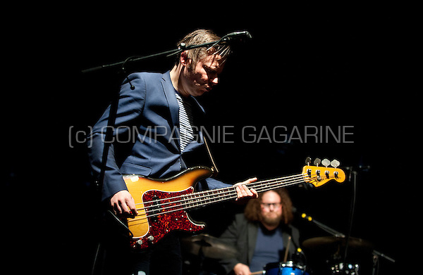 Concert of the Belgian trip hop band Hooverphonic at the Crammerock festival, in Stekene (Belgium, 06/09/2014)