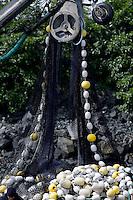 Fishing net detail. St. Paul Boat Harbor, Kodiak, Alaska
