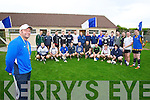 Saint Brendans Ardfert manager Pat O'Driscoll with the squad