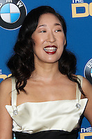 CENTURY CITY, CA - JANUARY 25: Sandra Oh at the 66th Annual Directors Guild Of America Awards held at the Hyatt Regency Century Plaza on January 25, 2014 in Century City, California. (Photo by Xavier Collin/Celebrity Monitor)