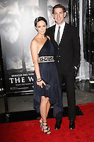 UK actress/cast member Emily Blunt arrives with John Krasinski at the US/LA premiere of 'The Wolfman' in Los Angeles, California 09 February 2010. Upon his return to his ancestral homeland, an American man (Del Toro) is bitten, and subsequently cursed by, a werewolf..Photo by Nina Prommer/Milestone Photo