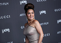 LOS ANGELES - NOVEMBER 2:  Salma Hayek Pinault at the 2019 LACMA Art + Film Gala Presented By Gucci at LACMA on November 2, 2019 in Los Angeles, California. (Photo by PictureGroup)
