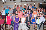 WEDDING PARTY: Jean and Terry Andrews,Tralee, who had a beach wedding in the Caribbean on July 12th last, held an after wedding party for friends and neighbours in the Kerin's O'Rahilly's GAA clubhouse last Saturday night.