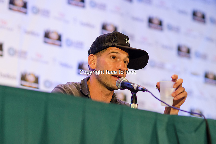 Jon Bernthal appears at Wizard World Chicago Comic Con in Rosemont, Illinois, 10.08.2013.<br /> Credit: MediaPunch/face to face<br /> - Germany, Austria, Switzerland, Eastern Europe, Australia, UK, USA, Taiwan, Singapore, China, Malaysia, Thailand, Sweden, Estonia, Latvia and Lithuania rights only -