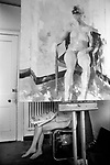 Slade school of art  London. Life class 1977.