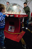 In addition to several air hockey tables, there was a bubble hockey game. - The Northeastern University Huskies defeated the visiting Providence College Friars 5-0 on Saturday, November 20, 2010, at Matthews Arena in Boston, Massachusetts.