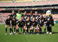 DC United Starting Elven.   AFC Ajax defeated DC United 2-1 during an International Friendly at RFK Stadium Sunday May 22, 2011.