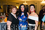 Mary Cahill, Joanne Houlihan and Karen Joy at the 'Rose Rocks For Sudan' Charity Dinner in Aid of Sudan at the Rose Hotel on Sunday night.