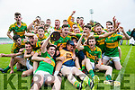 South Kerry winners of the Acorn Life Under 21 GAA Football Championship final against Dingle at Austin Stack Park on Tuesday