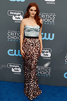 Madeline Brewer attends the 23rd Annual Critics' Choice Awards at Barker Hangar in Santa Monica, Los Angeles, USA, on 11 January 2018. Photo: Hubert Boesl - NO WIRE SERVICE - Photo: Hubert Boesl/dpa /MediaPunch ***FOR USA ONLY***