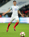 England's Aaron Cresswell in action during the friendly match at Wembley Stadium, London. Picture date November 15th, 2016 Pic David Klein/Sportimage