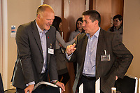 Jef Todd of BSP Consulting with Nigel Rowlson of The Dairy Agency