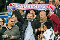 Madridista Fan at Santiago Bernabeu Satadium
