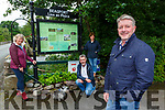 Philip O'Connor along with fellow members of Beaufort Tidy Towns committee l-r: Eileen O'Neill, Proinsias  Mac Curtain and Rachel Cameron who have been busy keeping the village looking great