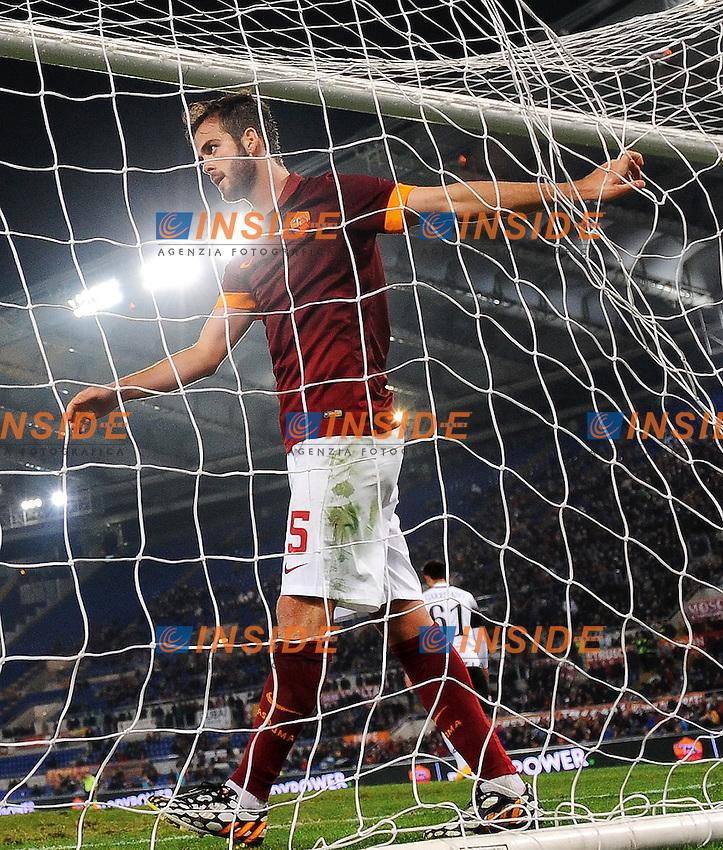Miralem Pjanic Roma <br /> Roma 29-10-2014 Stadio Olimpico, Football Calcio Serie A 2014/2015 AS Roma - Cesena. Foto Andrea Staccioli / Insidefoto