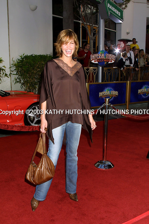 ©2003 KATHY HUTCHINS / HUTCHINS PHOTO AGENCY.WORLD PREMIERE OF 2 FAST 2 FURIOUS.UNIVERSAL AMPHITHEATER.UNIVERSAL CITY, CA.JUNE 3 , 2003..ASHLEY SCOTT.