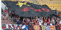New York Red Bulls fans that came to support the team. DC United defeated the New York Red Bulls, 4-2, at RFK Stadium in Washington DC, Sunday, June 10 , 2007.