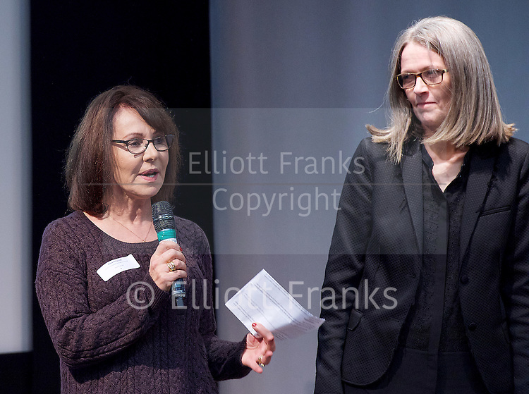 New national dance industry body launched and name announced - One Dance UK<br /> at the Royal Society of Medicine, London, Great Britain <br /> 7th December 2015 <br /> <br /> Arlene Phillips CBE,<br /> patron<br /> <br /> <br /> Photograph by Elliott Franks <br /> Image licensed to Elliott Franks Photography Services