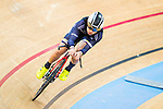 Cyril Cheng of X SPEED in action during the  Youth 11-13 1km Time Trial (Qualifying) at the Hong Kong Track Cycling Race 2017 Series 5 on 18 February 2017 at the Hong Kong Velodrome in Hong Kong, China. Photo by Marcio Rodrigo Machado / Power Sport Images