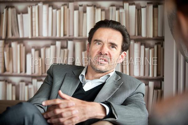 Serge Pampfer, CEO of the WBC Incubator (Belgium, 29/05/2015)