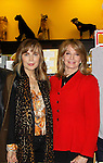 """Cast of Days Of Our Lives -  Lauren Koslow, Diedre Hall sign book """"Days Of Our Lives 50 Years"""" by Greg Meng - author & co-executive producer on October 27, 2015 at Books & Greetings, Northvale, New Jersey. (Photo by Sue Coflin/Max Photos)"""