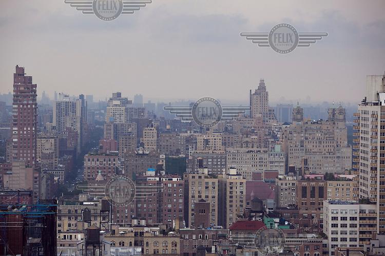 The Upper West Side of Manhattan, New York.