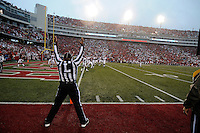NWA Media/ J.T. Wampler - Arkansas' first touchdown against Alabama Saturday Oct. 11, 2014.