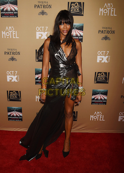 LOS ANGELES, CA - OCTOBER 03: Model/actress Naomi Campbell arrives at the premiere screening of FX's 'American Horror Story: Hotel' at Regal Cinemas L.A. Live on October 3, 2015 in Los Angeles, California.<br /> CAP/ROT/TM<br /> &copy;TM/ROT/Capital Pictures