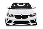 Car photography straight front view of a 2020 BMW m2 competition Base 2 Door Coupe