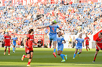 Bridgeview, IL - Sunday June 12, 2016: Alyssa Mautz during a regular season National Women's Soccer League (NWSL) match between the Chicago Red Stars and the Portland Thorns at FC Toyota Park.