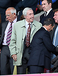 Stoke's former player Gordon Banks looks on during the premier league match at the Britannia Stadium, Stoke on Trent. Picture date 9th September 2017. Picture credit should read: David Klein/Sportimage