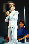 Jul 13, 1985: DAVID BOWIE - Live Aid concert at Wembley Stadium London