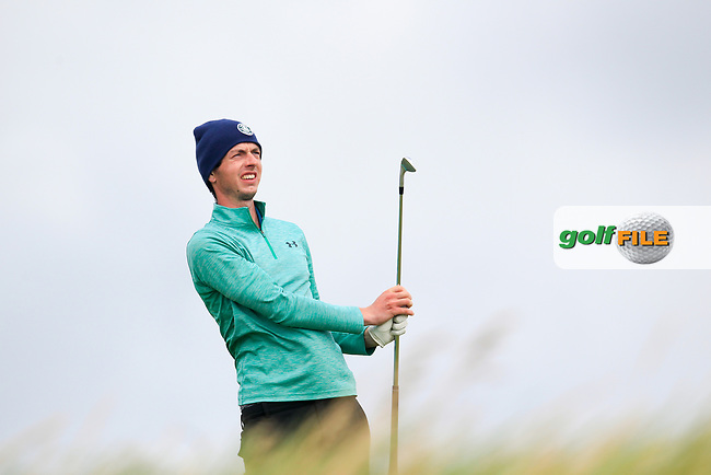 William Russell (Clandeboye) during the last 16 of the South of Ireland from Lahinch golf club, Lahinch, Co. Clare, Ireland. <br /> Picture: Fran Caffrey / Golffile