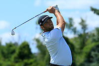 Jon Rahm (ESP) during the third round of the Northern Trust, played at Liberty National Golf Club, Jersey City, New Jersey, USA 10/08/2019<br /> Picture: Golffile | Michael Cohen<br /> <br /> All photo usage must carry mandatory copyright credit (© Golffile | Phil Inglis)